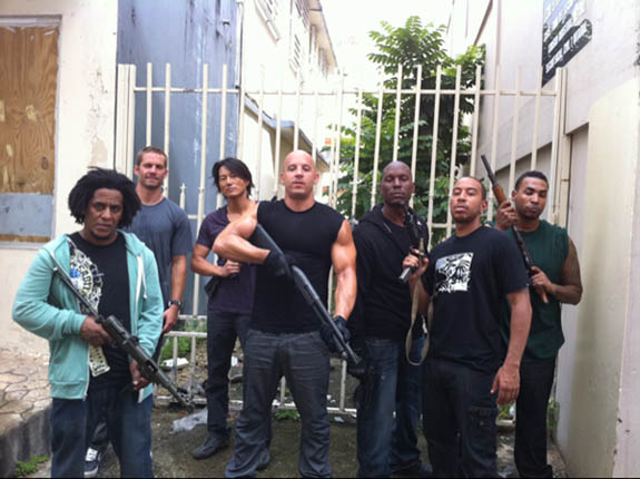 fast five movie cast. Review: FAST FIVE