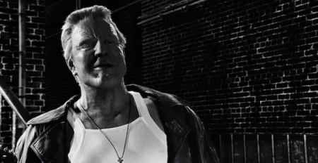 Don't be looking so pleased with yourself there, Mick. You're in a SIN CITY movie
