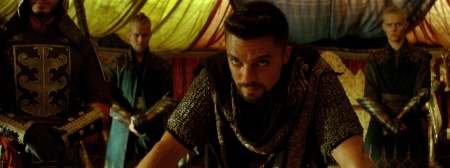 Think Coop used whatever bronzer Edgerton didn't use up making EXODUS